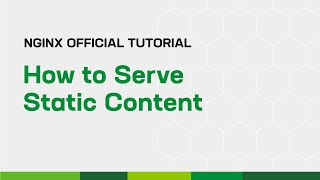 How to Serve Static Content