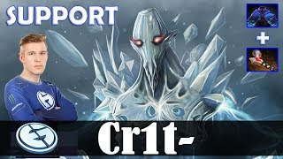 Crit - Ancient Apparition Offlane | SUPPORT | Dota 2 Pro MMR Gameplay