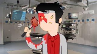 DR Hueva!! SOY EL PEOR DOCTOR DEL MUNDO | Amateur Surgeon