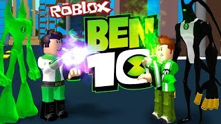 KEN 10 VS BEN 10.000 dans ROBLOX (Ben 10 l'arrivée des étrangers)