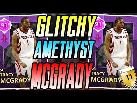 NBA 2K18 MYTEAM AMETHYST TRACY MCGRADY GAMEPLAY! HE'S GOT TMAC TOO!?