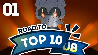 Pokemon Showdown Road to Top Ten: Pokemon Sun & Moon Ubers w/ PokeaimMD #1