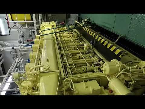 Sormovskiy 3060 Engine Room\Сормовский 3060 машинное отделение