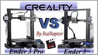 Creality Ender 3 VS Ender 3 PRO - All The Details (PT subtitles)