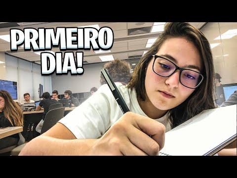 PRIMEIRO DIA DE AULA 2020! *começamos Bem*