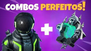 5 BEST COMBOS of the ETERNAL VOYAGER SKIN-Fortnite backpacks combinations