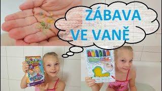 Glibbi Knisti, tužky do vany - Alex Ruba Dub | Testování hraček | Máma v Německu