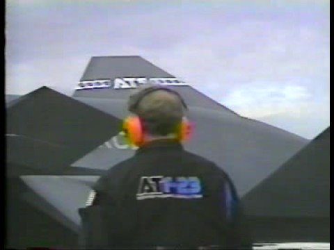 YF-23 NATF Strike Fighter