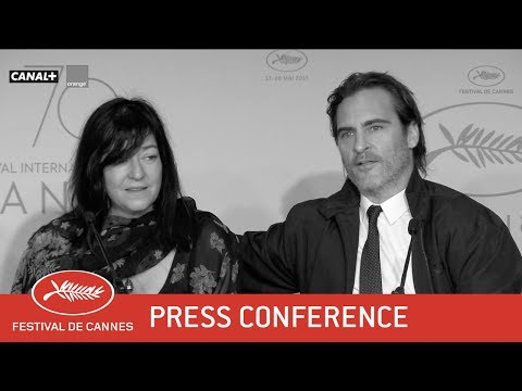 YOU WERE NEVER REALLY HERE - Press Conference - EV - Cannes