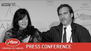 YOU WERE NEVER REALLY HERE - Press Conference - EV - Cannes 2017