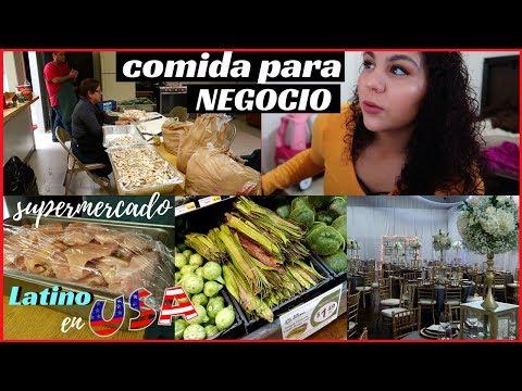 Preparando comida para una boda ( catering ) + comprando por mayoreo-VLOGMAS #9