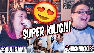 THEY ARE ADORABLE!!! MOIRA AND JASON COVER PERFECT BY ED SHEERAN! REACTION!!