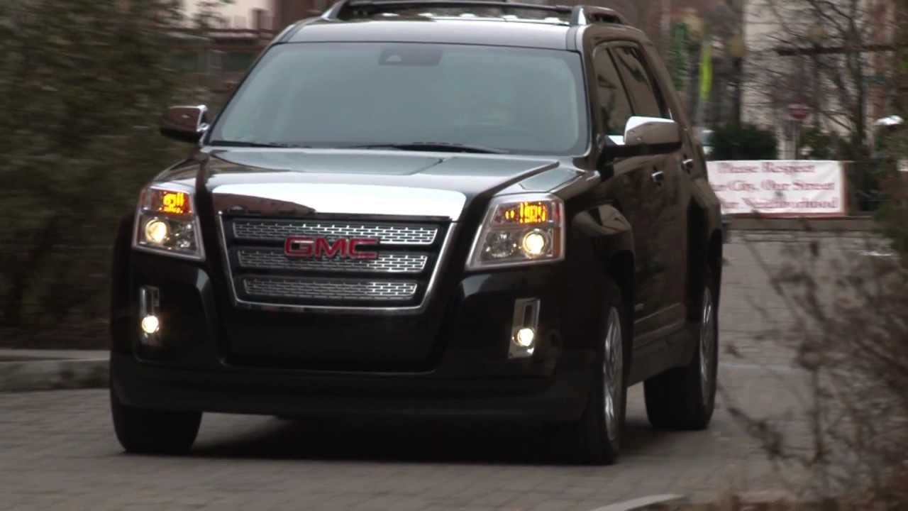 2012 gmc terrain drive time review with steve hammes. Black Bedroom Furniture Sets. Home Design Ideas