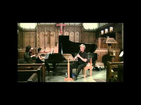 Performance: Stravinsky L'Histoire du Soldat, trio version (part 1 of 2)