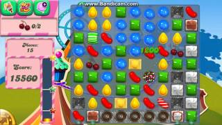 Candy Crush Saga Level 185 No Boosters