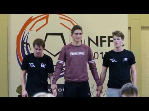 Dutch Freestyle Football Championships Final 2017 | Jesse Marlet vs Rowdy Heinen