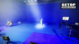 GETOP VP3.0 攝影棚(舞台)燈光自動追蹤技術展示