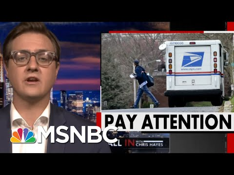 How Trump Is Slowing Down The Post Office In The Year Of The Mail-In Ballot | All In | MSNBC