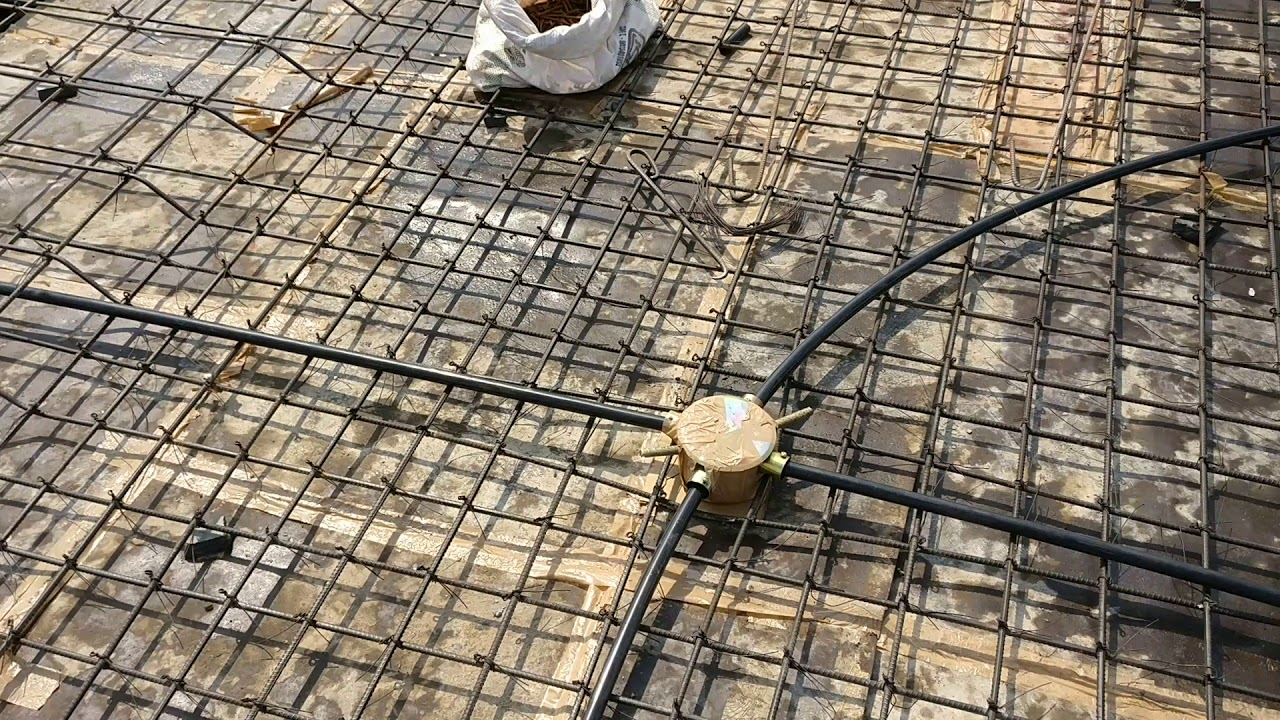 Electrical Wiring House Pvc Conduit Installation Youtube Metal