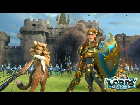 Lords Mobile Fight Scene 5-8 Gameplay