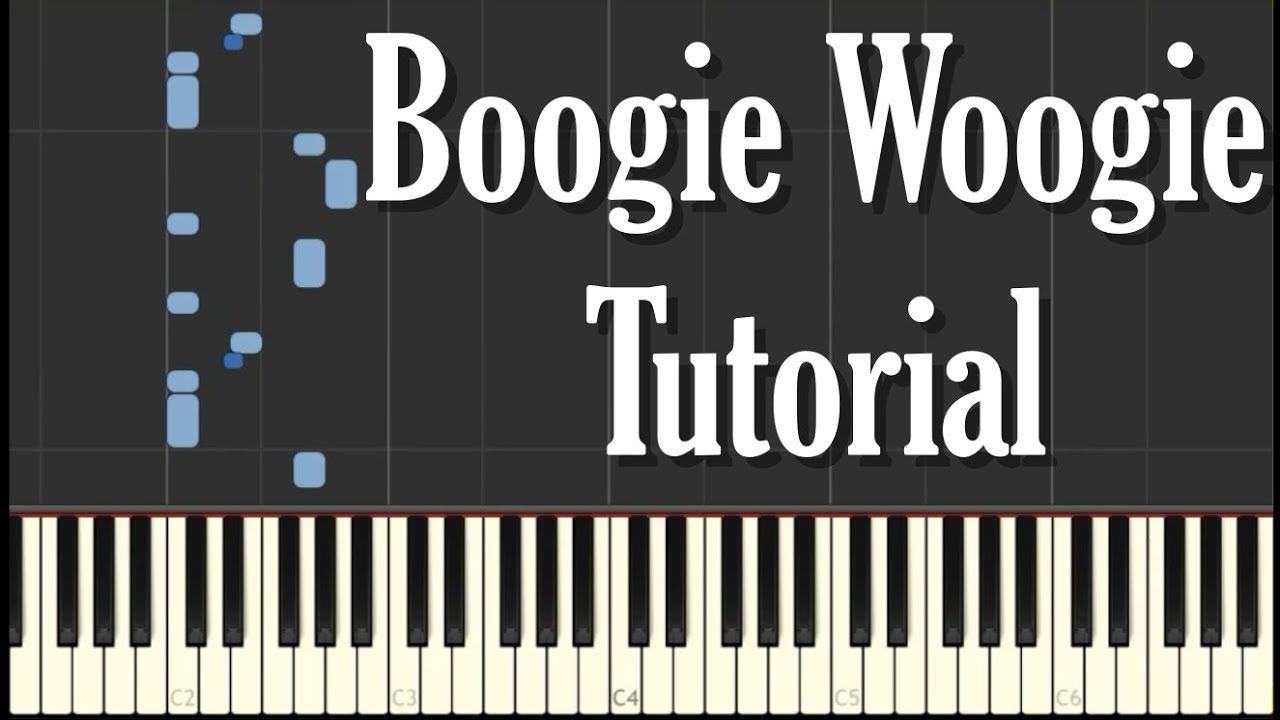 Boogie Woogie Blues Piano Tutorial Free Sheet Music