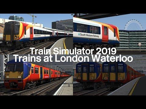 Rush Hour Trains at London Waterloo | Train Simulator 2019 |