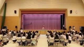 神戸女子大学 看護学部 フラッシュモブ