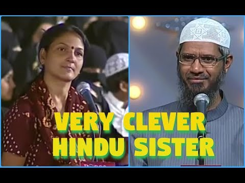Hindu Sister Ask To Dr. Zakir Naik Please Open A True News Channel