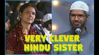 Video Hindu Sister Ask To Dr. Zakir Naik Please Open A True News Channel download MP3, 3GP, MP4, WEBM, AVI, FLV Januari 2018