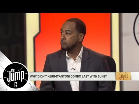 Amin Elhassan looks back on Steve Kerr and Mike D'Antoni's time together with Suns | The Jump | ESPN