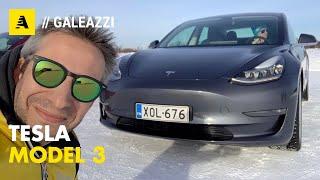 Tesla Model 3 | Quando l'elettrica é bella da guidare