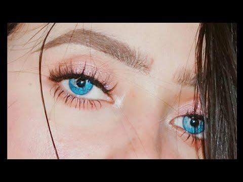تتوريال ميك اب عيون سهل جداااا  ومعرفه طريقه دمج الشادو والفرش المناسبه واستخداماتها