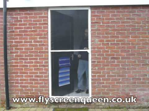 Flyscreen Door Aluminium & Flyscreen Door Aluminium - YouTube