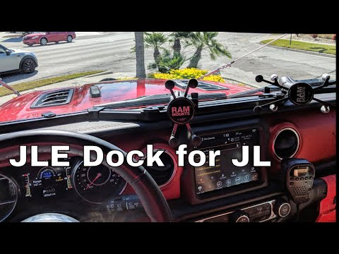 Jeep Wrangler JL Vector Off-Road JLE Dock And Rugged Ridge Headlight Guards