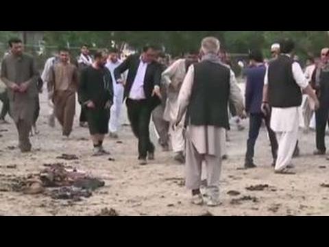Blast rocks Kabul funeral