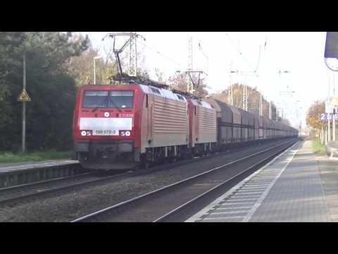 Rail Traffic: Regio Emmerich (D) 22-11-2014