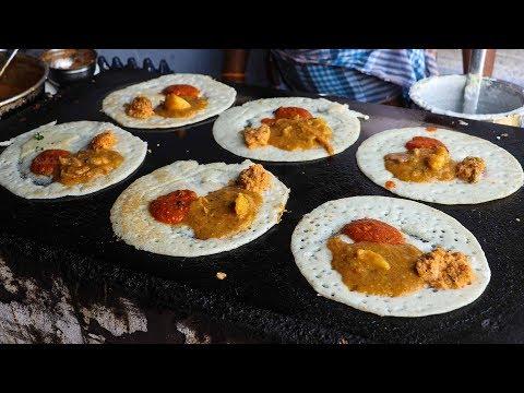 Indian Street Food in Salem, India | Street Food in India BEST masala dosa | akka kadai dosa