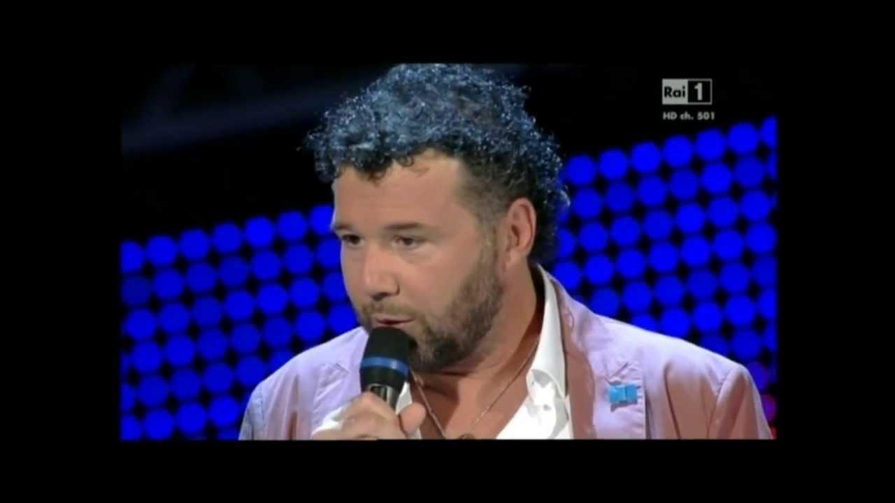 Paolo Vallesi Al Festival Di Castrocaro 2013 Youtube