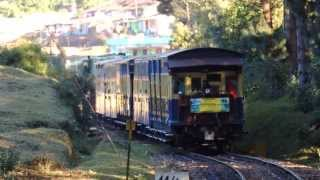 Nilgiri Mountain Railway: Train to Ooty descends from Summit