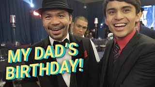 SURPRISING MY DAD ON HIS BIRTHDAY! (Manny Pacquiao's 41st Birthday) | Jimuel Pacquiao