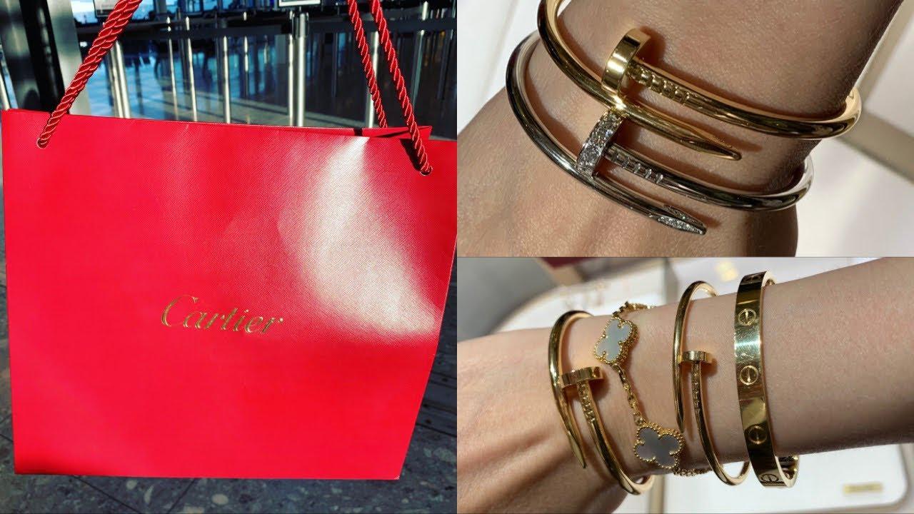 Cartier Unboxing Revealing My New Juste Un Clou Bracelet