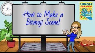 Make a Bitmoji Scene in Google Slides! (Bitmoji Classroom)