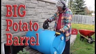 How to make a large potato barrel