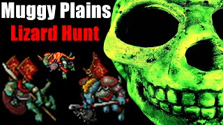 tibia muggy plains lizard hunt muito grana level 60 100