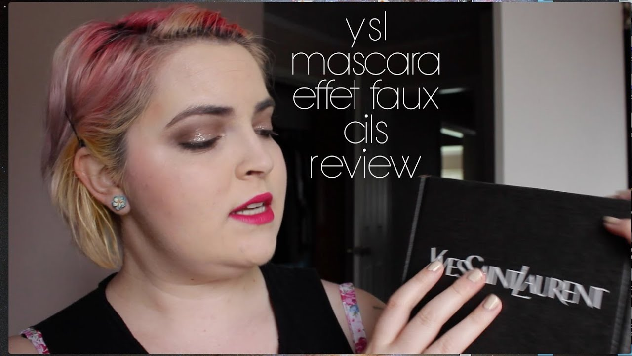 buy ysl bag online - Yves Saint Laurent Mascara Volume Effet Faux Cils Review - YouTube
