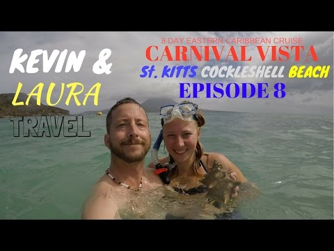 Carnival Vista 2017, St. Kitts, Cockleshell Beach, Nevis, Caribbean Cruise
