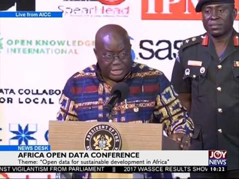 Africa Open Data conference - News Desk on Joy News (20-7-17)