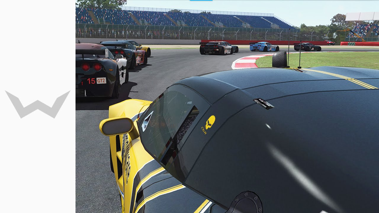 rFactor 2 - Build 946 + ReShade | Corvette C6 R @ Silverstone - #3