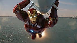 Железный Человек спасает Мир   Мстители   4K ULTRA HD
