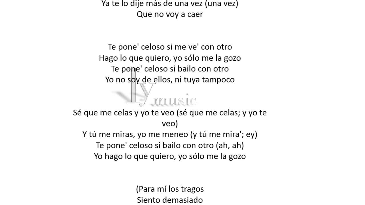 Lele Pons - Celoso(Audio & Lyrics/Letra)